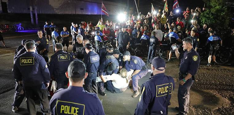 Riot Act: Cops Arrest 160 Outraged Hawaiians Fighting Against Mega-Wind Power Project